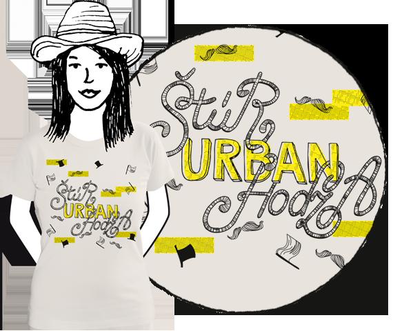 Svetlo šedé dámske tričko s krátkymi rukávmi s motívmi štúrových fúzov, vlajkami a klobúkmi a nápisom Štúr, Urban, Hodža z bavlny