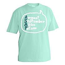 Vtipné mätové tričko s krátkym rukávom pre chlapcv s popisom August, September, Alebo, Potom teda ASAP alebo as soon as possible v bubline z bavlny